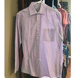 Good quality purple Van Heusen longsleeve